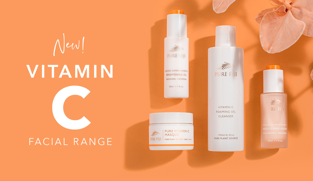 New Vitamin C Facial Range