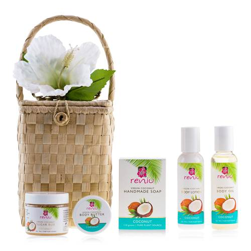 Reniu Tropical Treat Basket
